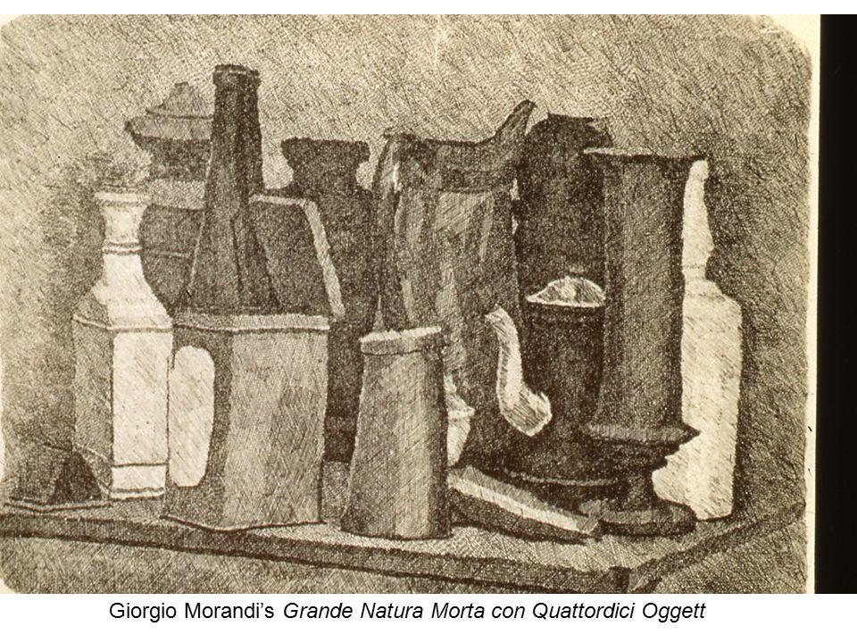 Giorgio Morandi's Grande Natura Morta con Quattordici Oggett
