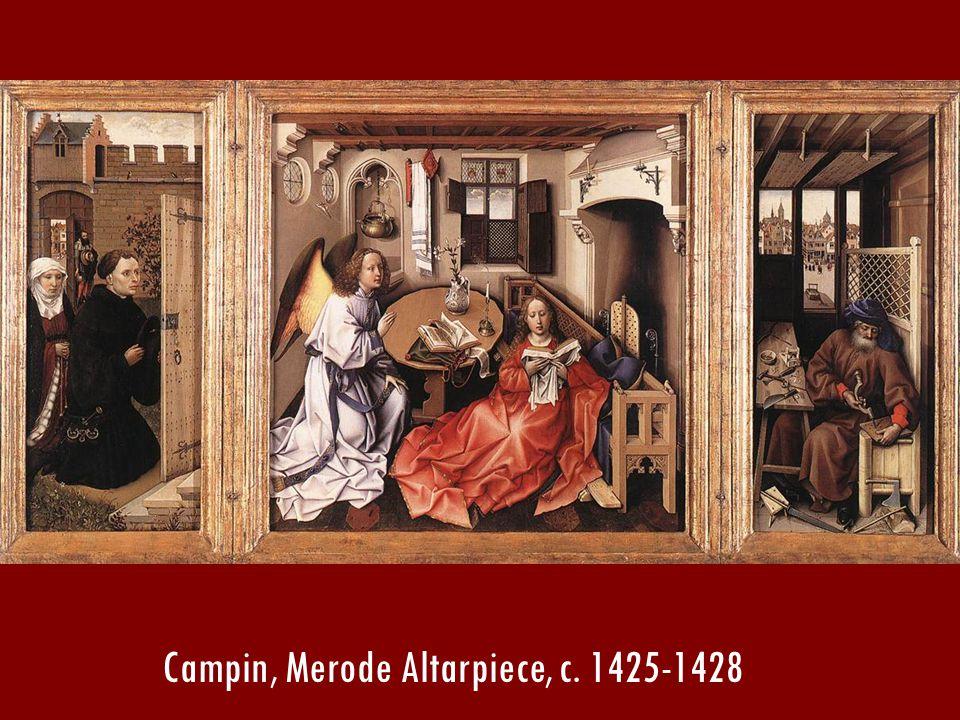 Campin, Merode Altarpiece, c. 1425-1428