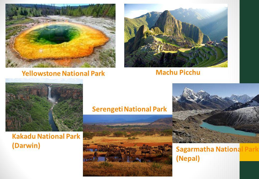Nationale parken in de wereld