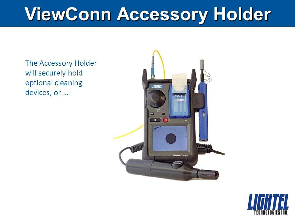 ViewConn Power Meter ViewConn offers an integrated power meter option.