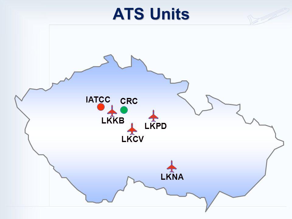 LKKB LKNA LKPD LKCV ATS Units IATCC CRC