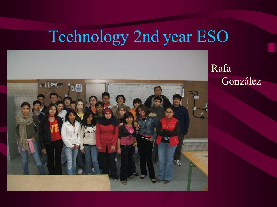 Technology 2nd year ESO Rafa González