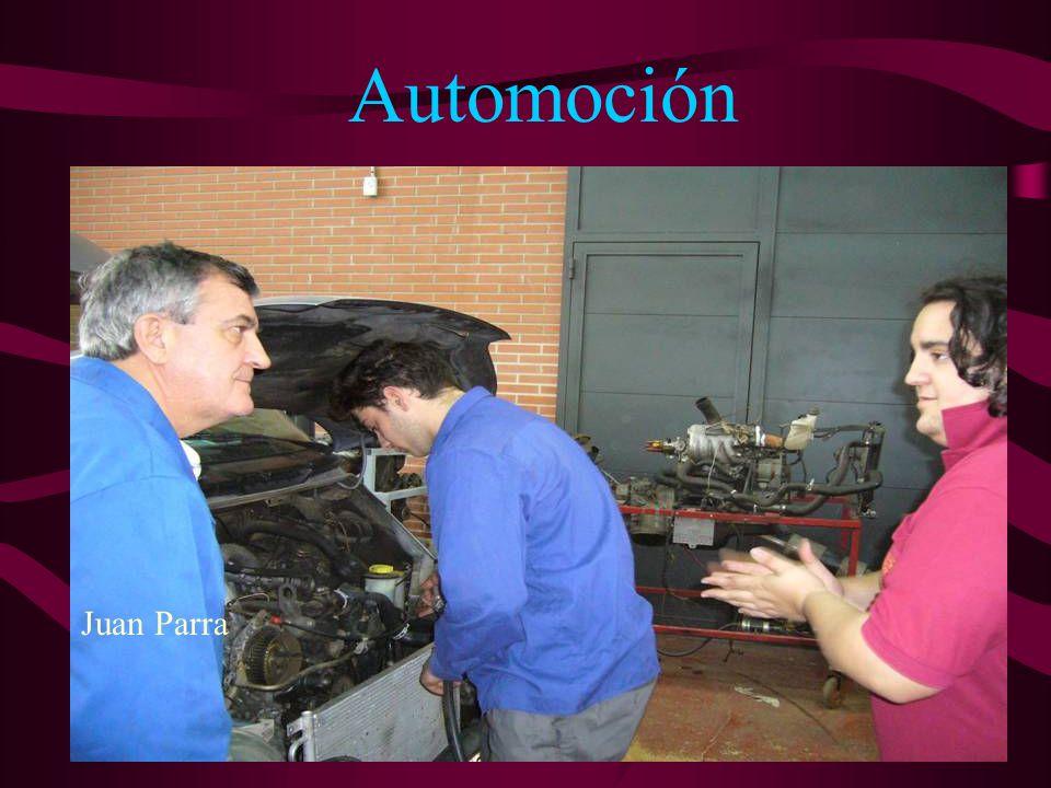 Automoción 2nd year/ English class Joana Company Two hours a week