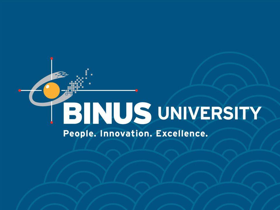 Bina Nusantara University 31 Moment Area
