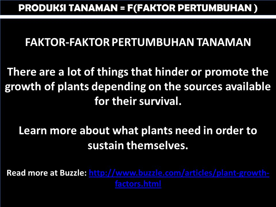PERTUMBUHAN AKAR = F(FAKTOR LINGKUNGAN) Soil Temperature 1.Root growth can be adversely affected by both sub- and supra-optimal soil temperatures.