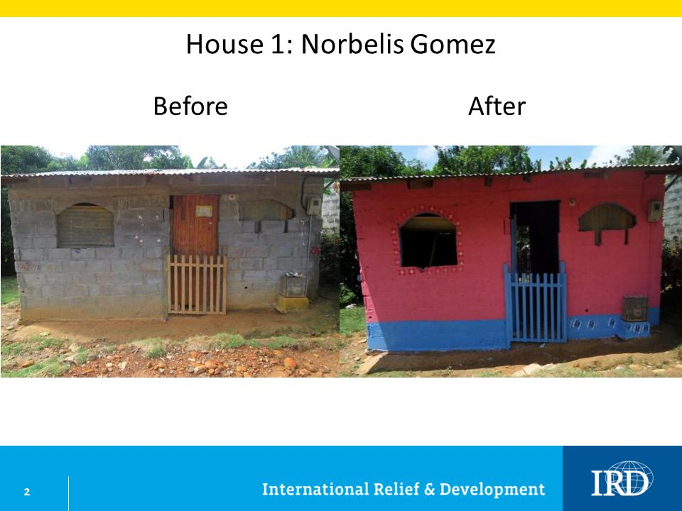 13 House 12: Adis Esther Julio BeforeAfter