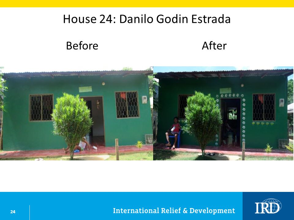 24 House 24: Danilo Godin Estrada BeforeAfter
