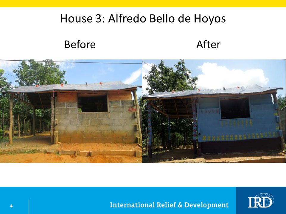 4 House 3: Alfredo Bello de Hoyos BeforeAfter