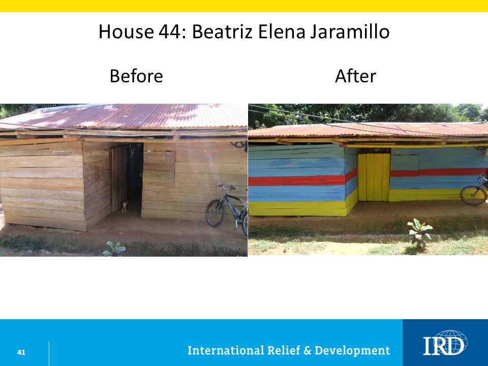 41 House 44: Beatriz Elena Jaramillo BeforeAfter