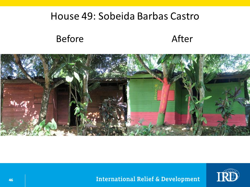 46 House 49: Sobeida Barbas Castro BeforeAfter