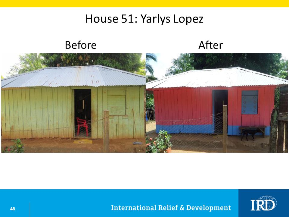 48 House 51: Yarlys Lopez BeforeAfter