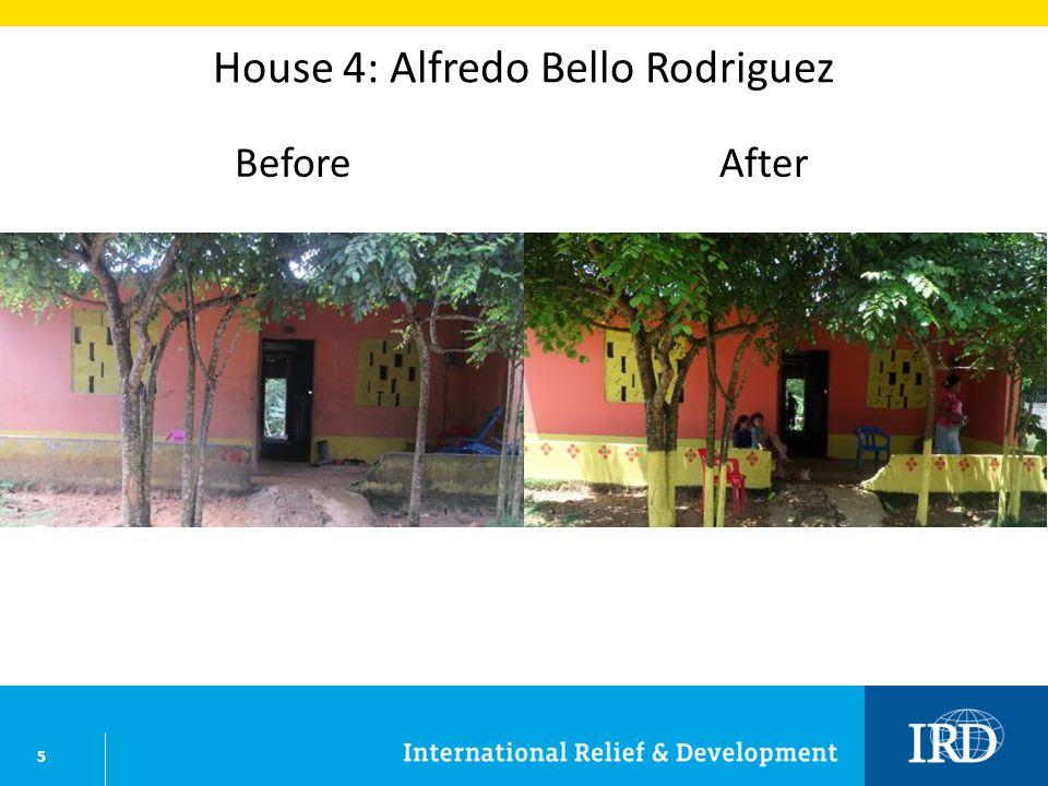 6 House 5: Miladys Berrio Tirado BeforeAfter