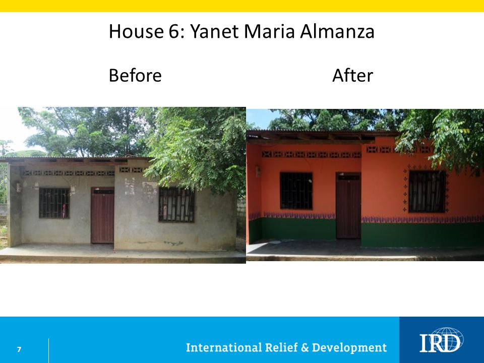 7 House 6: Yanet Maria Almanza BeforeAfter