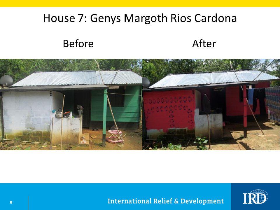 9 House 8: Flor Nelly Rios Cardona BeforeAfter