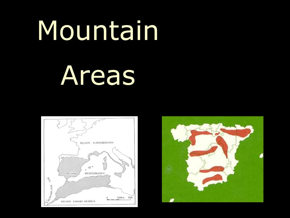Mountain Areas