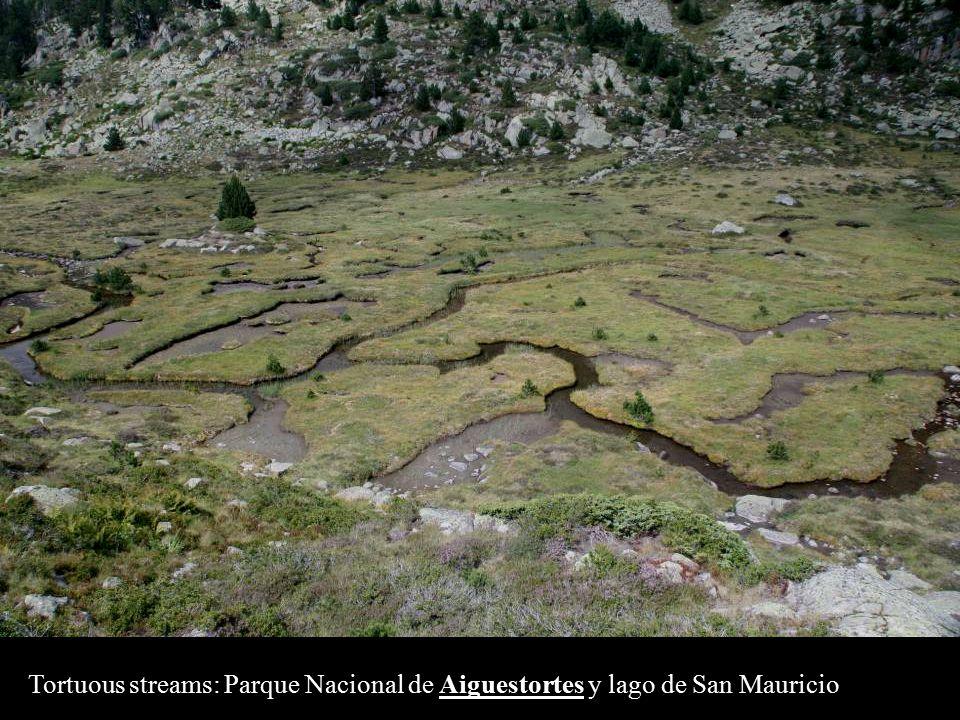 Tortuous streams: Parque Nacional de Aiguestortes y lago de San Mauricio