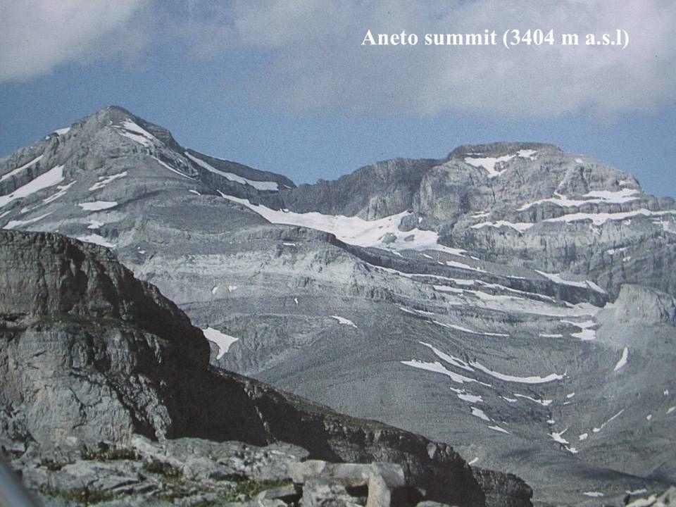 Aneto summit (3404 m a.s.l)