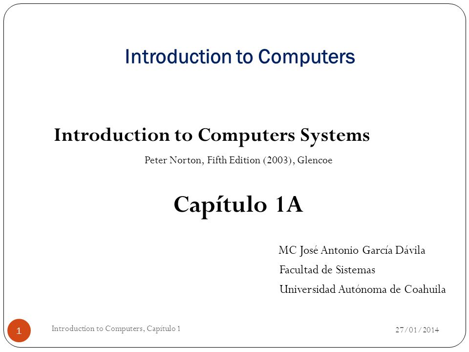 Definition of a Computer A computer is an electronic device used to process data, converting the data into information that is useful to people.