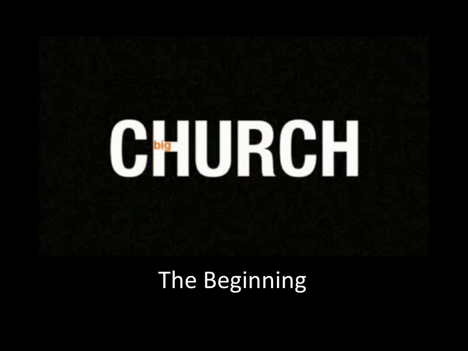 The church was birthed out by the Holy Spirit around a very simple idea and event: the resurrection of Jesus – Jesus was in fact what Jesus claimed to be.