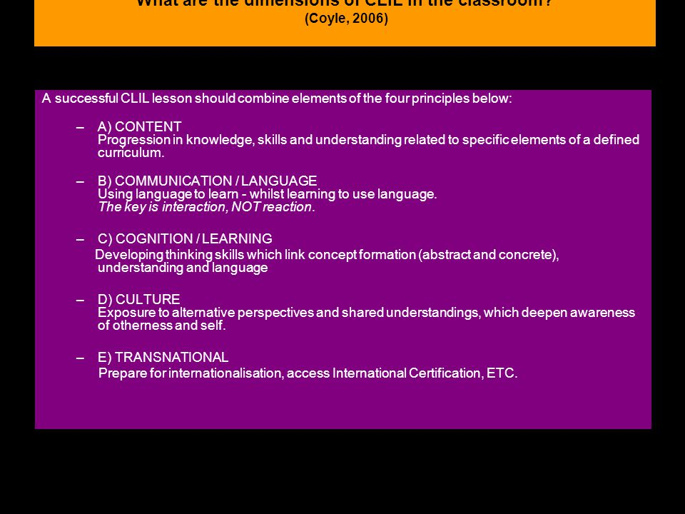 19:00:4212 What are the dimensions of CLIL in the classroom.