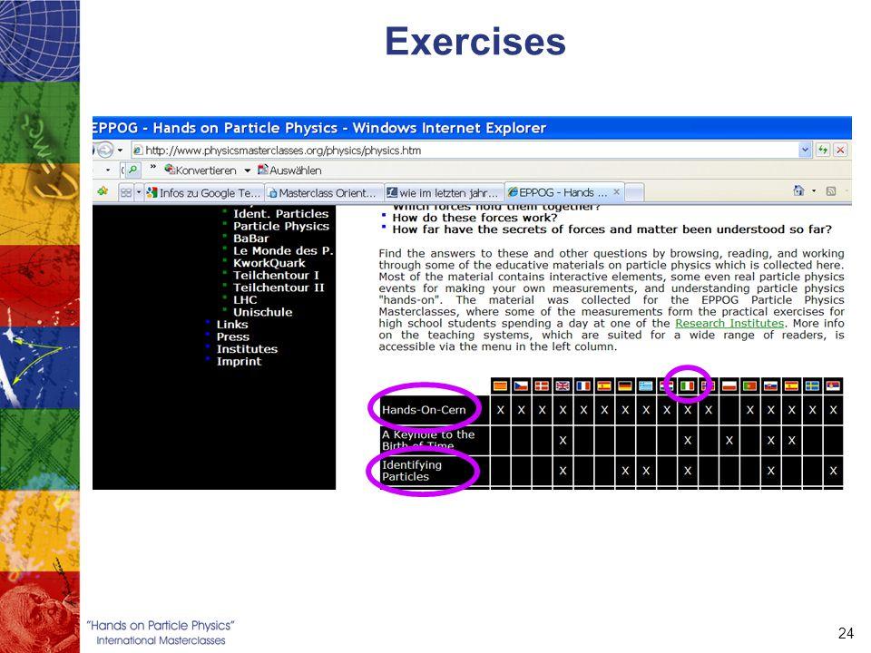 24 Exercises