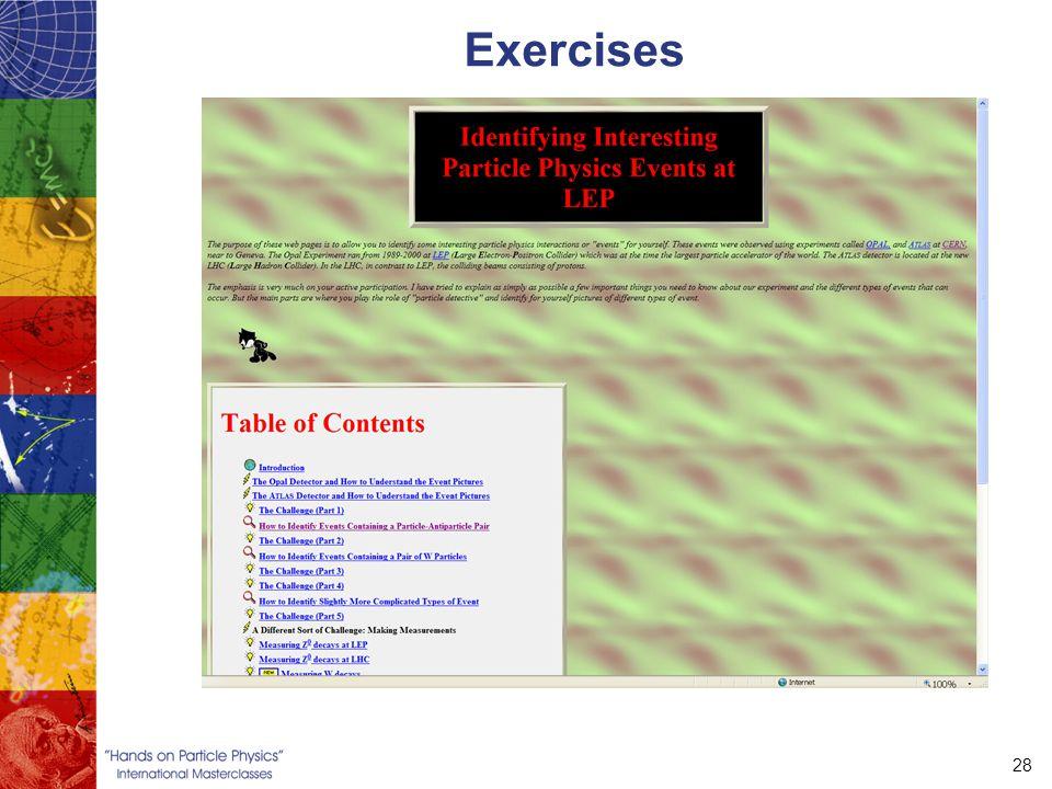 28 Exercises