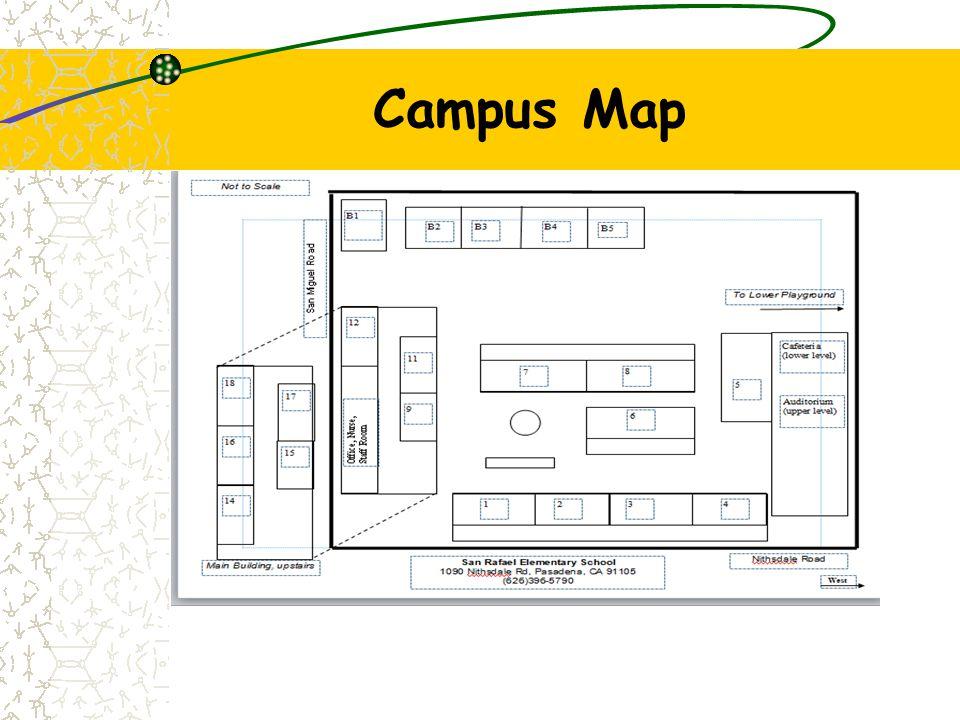 Parking Map SR Drop off Line Bus Zone Side Gate