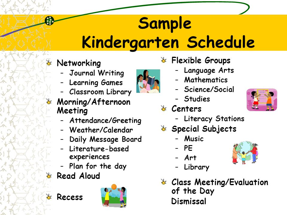 The Kindergarten Program Focuses on language development Incorporates active learning Provides opportunities for investigation, exploration, and disco