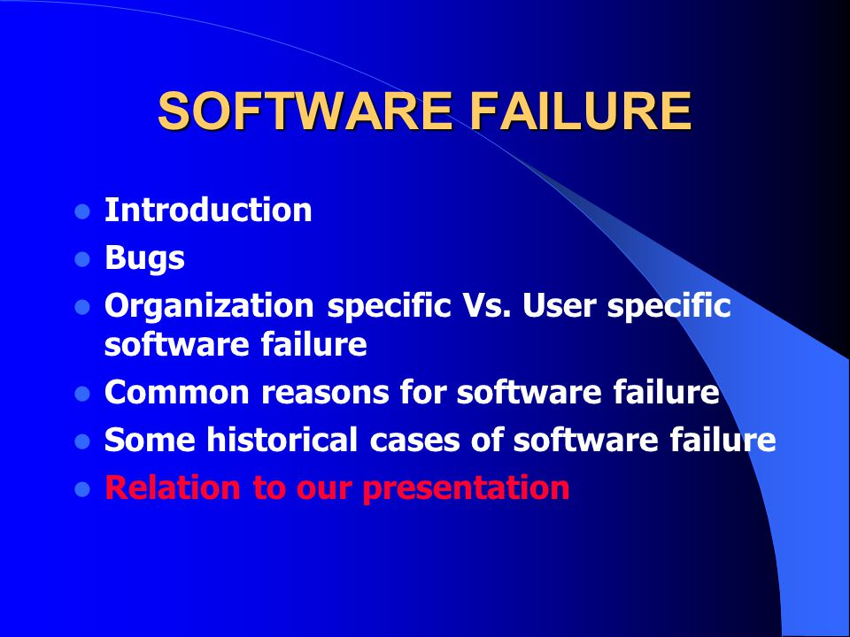Summary Software problems are inevitable They exist in every organization, no matter what the cost of the software Aleph500 was touted as a great cataloging program It did not provide for the complete needs of the Brooklyn College Technical Office The office that is the lifeline of the library It was not completely hardware compatible as it is self advertised and sold