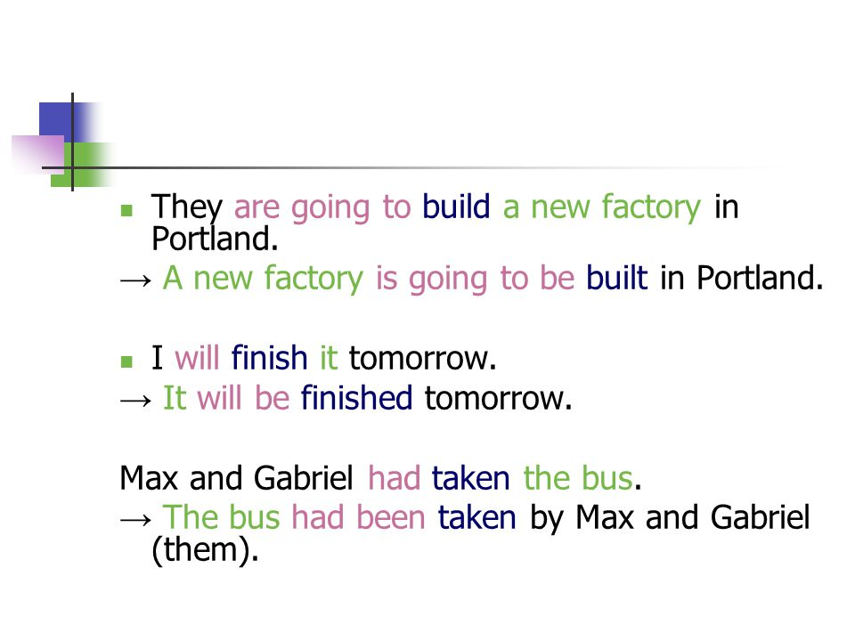 They are going to build a new factory in Portland.