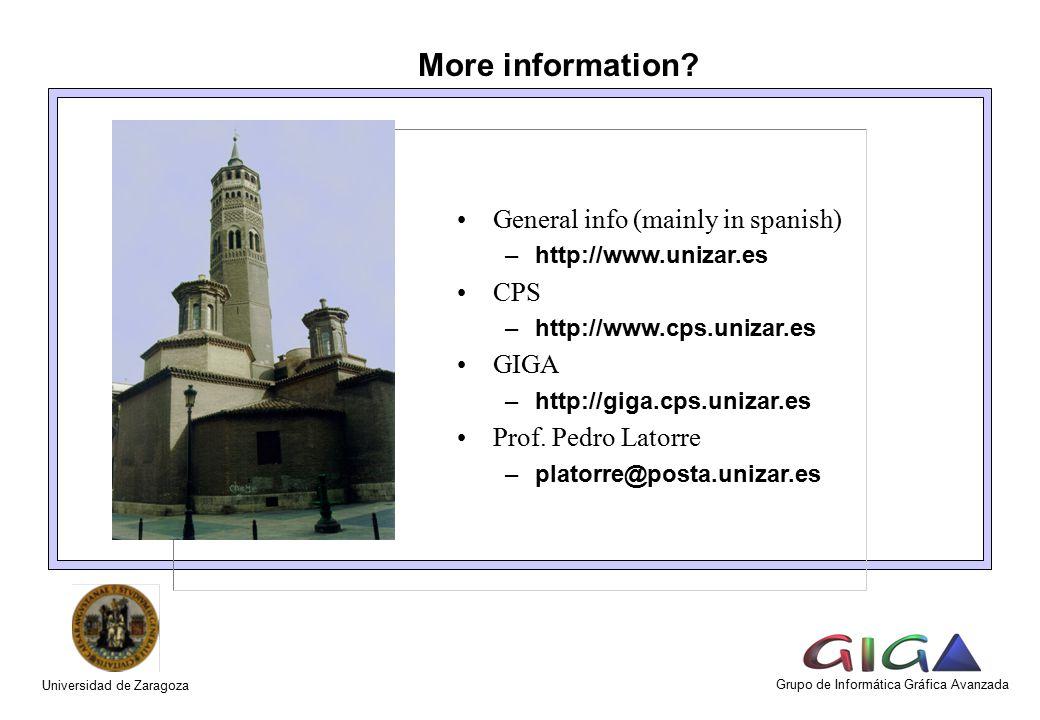 More information.