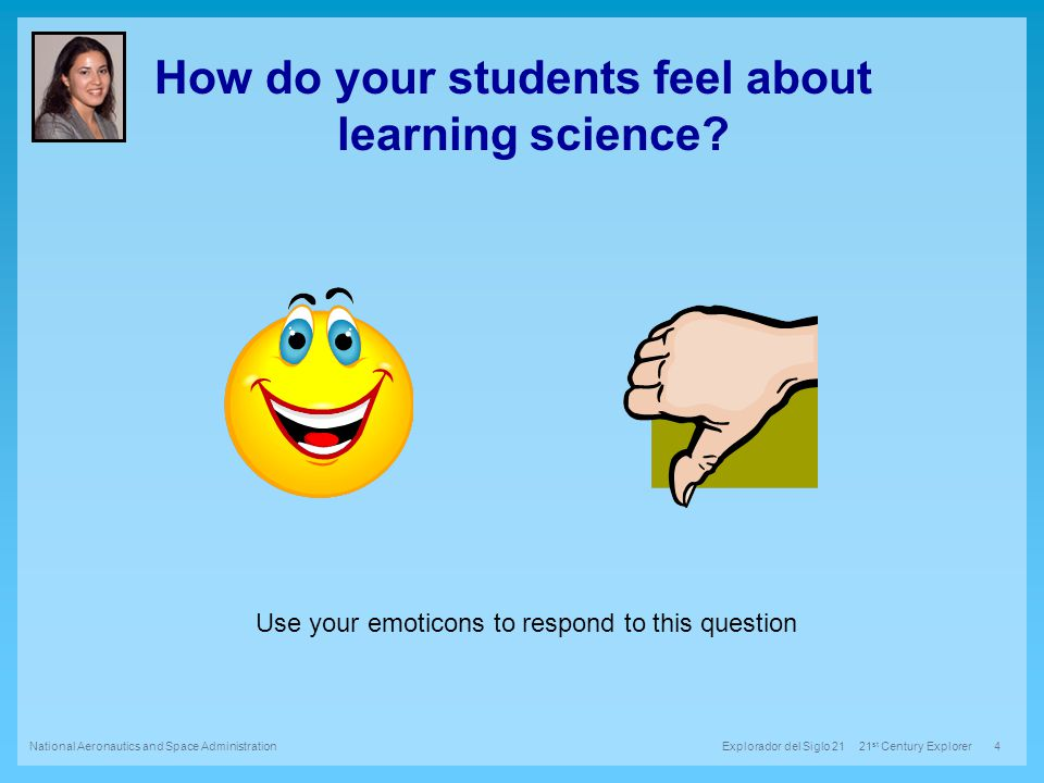 How do your students feel about learning science.