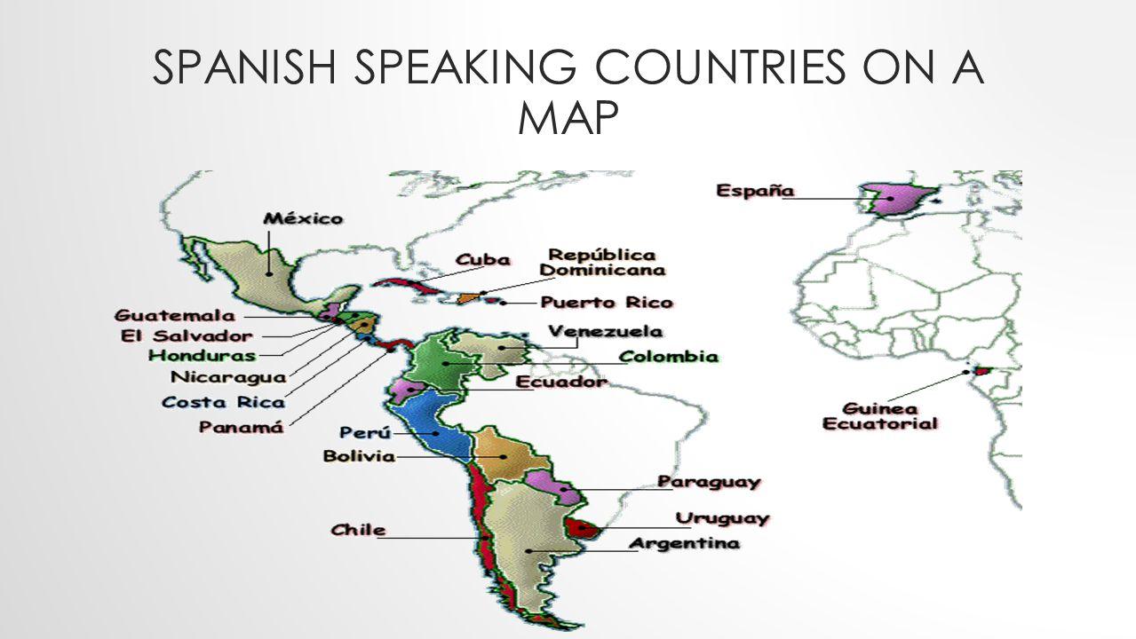 SPANISH SPEAKING COUNTRIES LIST Mexico Guatemala Honduras El Salvador Nicaragua Costa Rica Panama Spain Uruguay Cuba Dominican Republic Puerto Rico Ve