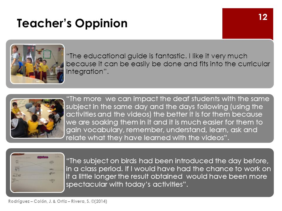 Teacher's Oppinion The educational guide is fantastic.