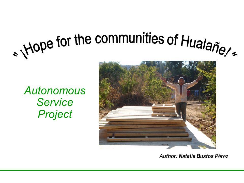 Autonomous Service Project Author: Natalia Bustos Pérez