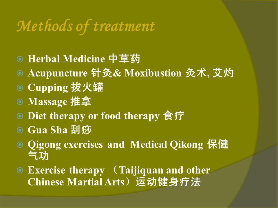 Methods of treatment in TCM 41