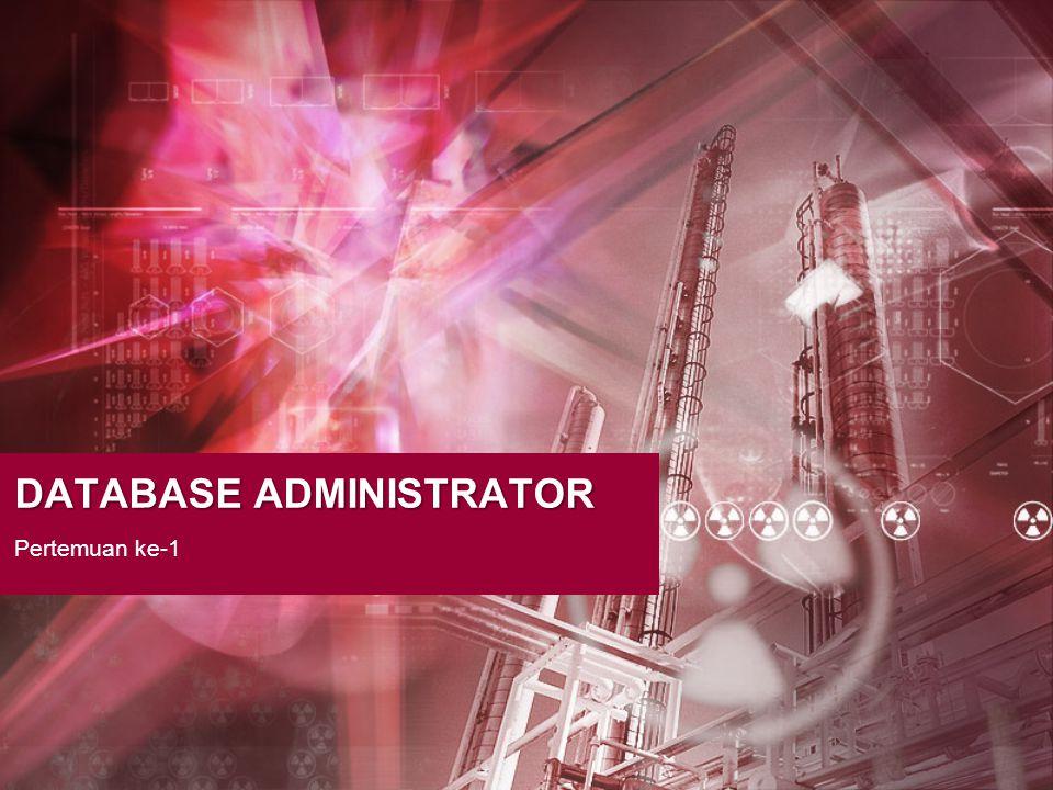 Database-DBMS-Database Administrator INTRODUCTION