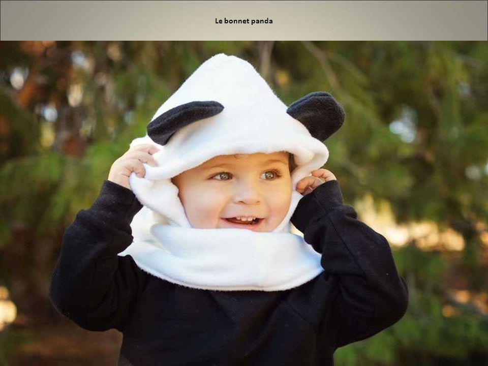 Le bonnet panda