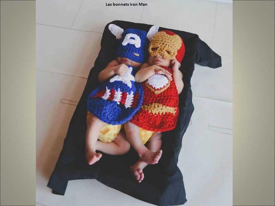 Les bonnets Iron Man