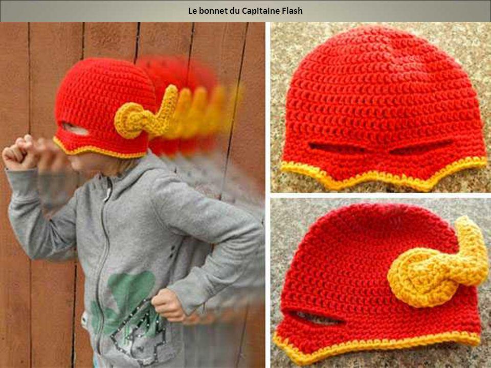 Le bonnet du Capitaine Flash