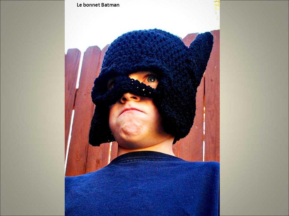 Le bonnet Batman