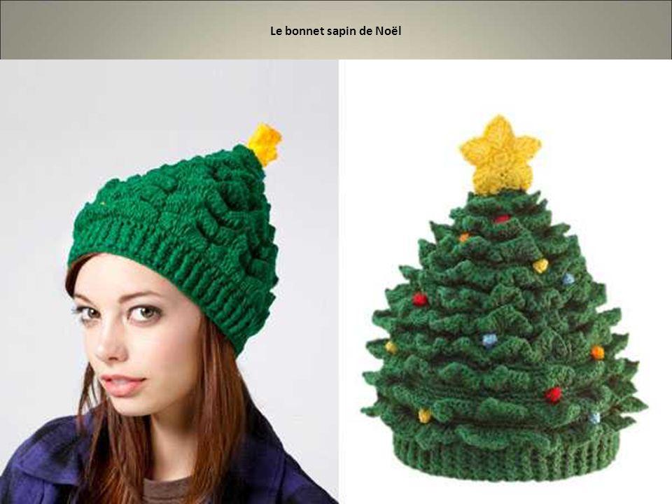 Le bonnet sapin de Noël