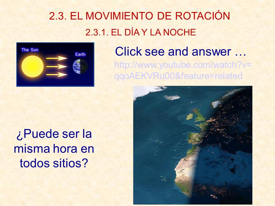 2.3. EL MOVIMIENTO DE ROTACIÓN 2.3.1.