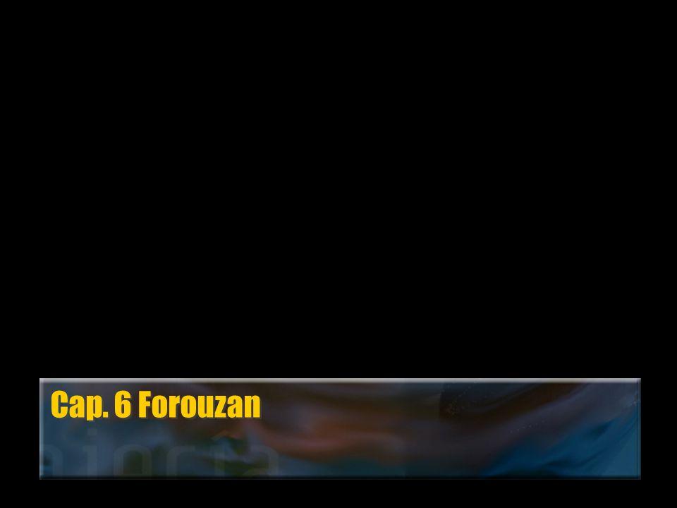 Cap. 6 Forouzan
