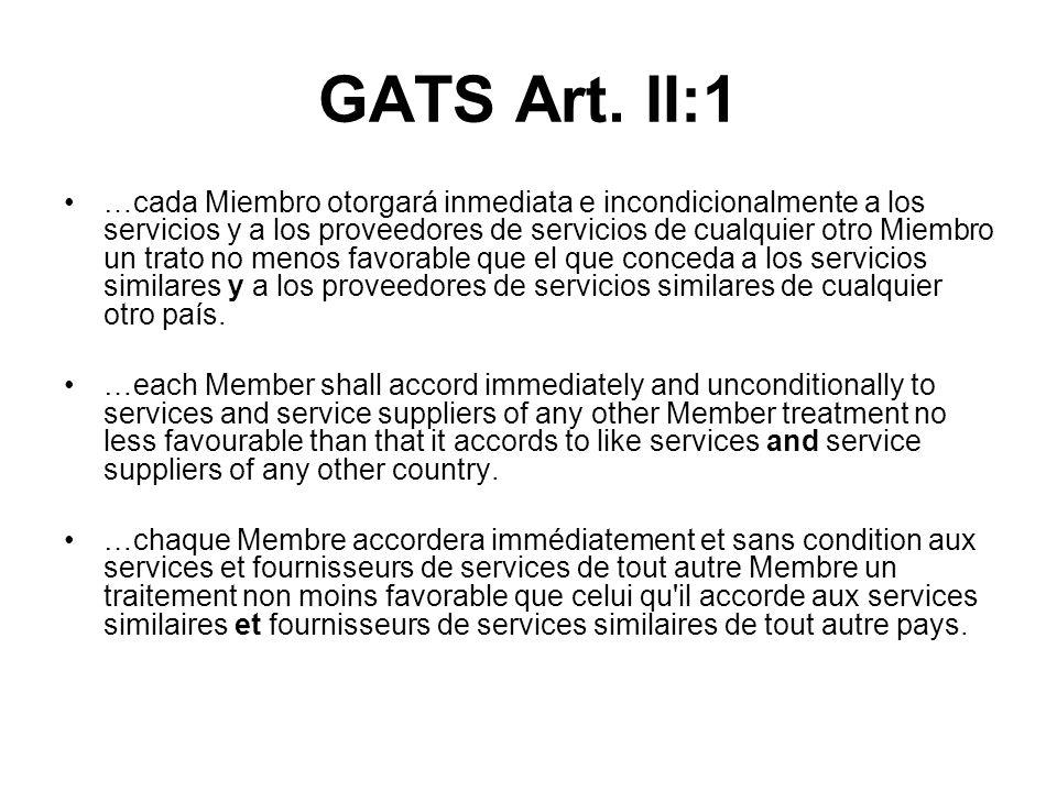 GATS Art.