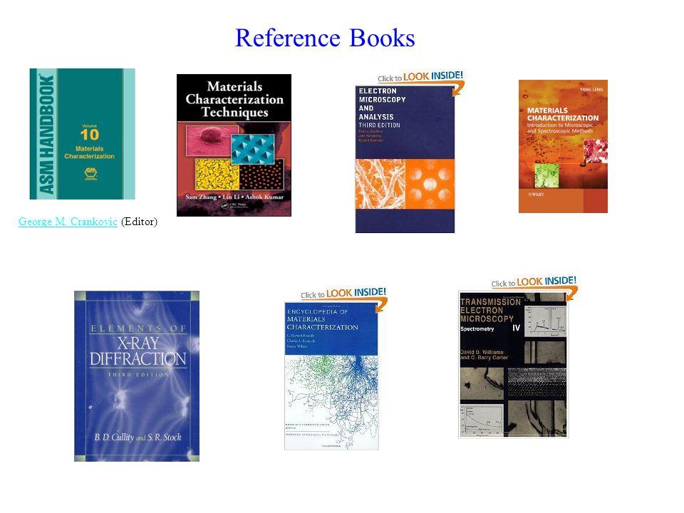 Reference Books George M. CrankovicGeorge M. Crankovic (Editor)