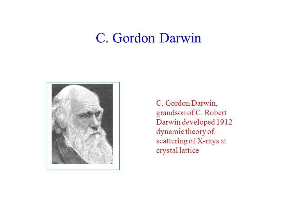 C.Gordon Darwin C. Gordon Darwin, grandson of C.