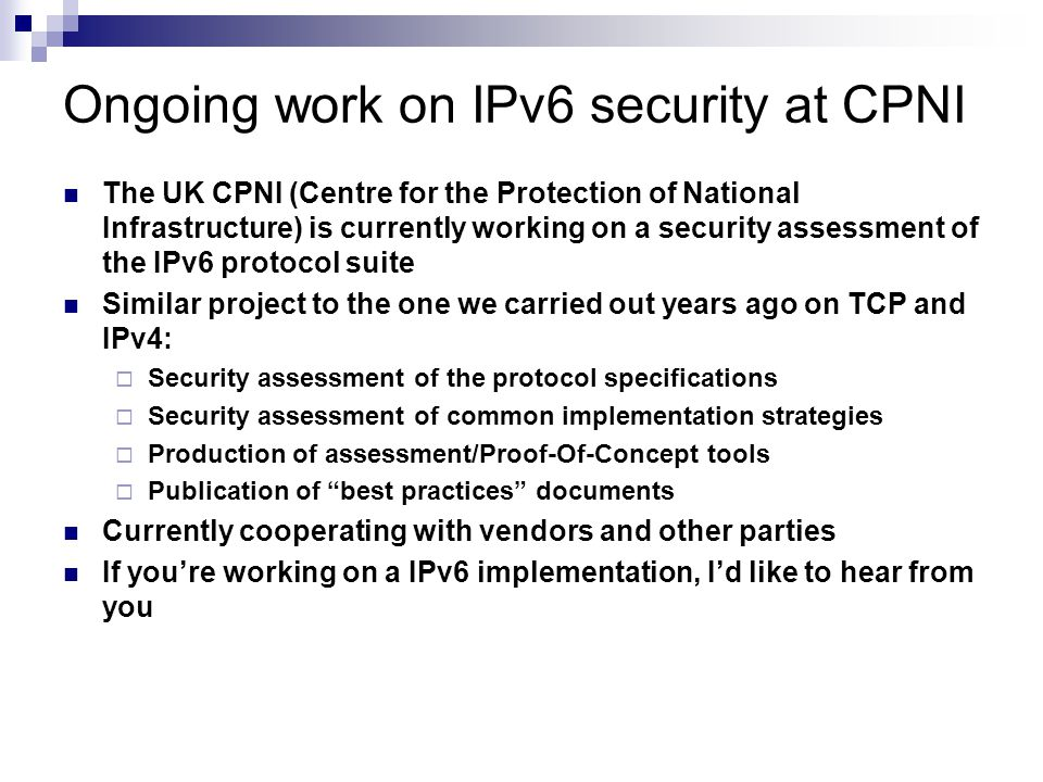 Brief Comparision of IPv4 & IPv6 (or what the small differences are )
