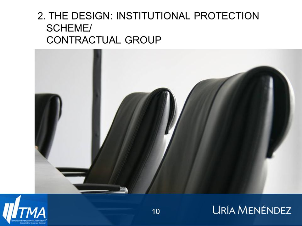 2. THE DESIGN: INSTITUTIONAL PROTECTION SCHEME/ CONTRACTUAL GROUP 10