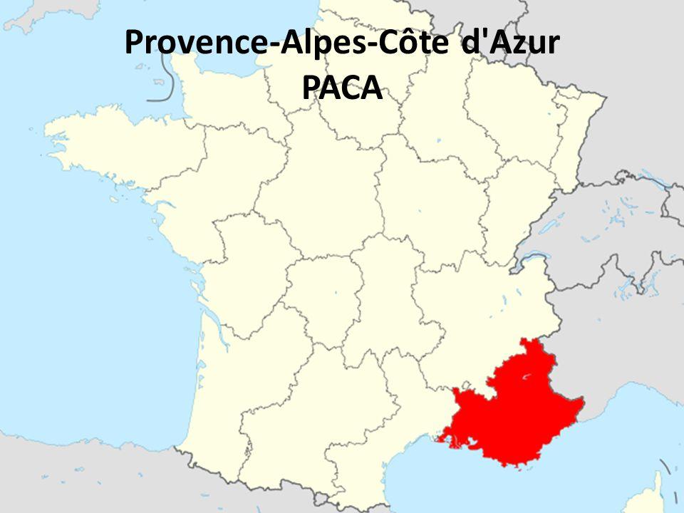 Provence-Alpes-Côte d Azur PACA